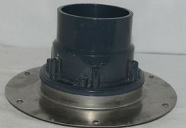 Sioux Chief Halo Adjustable Floor Drain With Deck Flange  Hub Connection image 4
