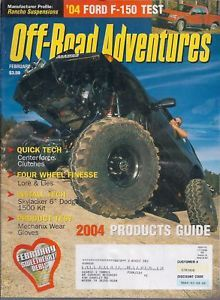 Primary image for Off-Road Adventures Magazine February 2004