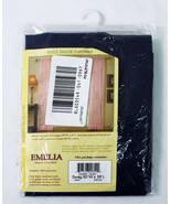 Emelia Voile Sheer Curtains Navy 60Wx38L One Pair CA2002P - $16.58