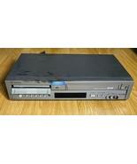 Samsung DVD-V3500 DVD VHS VCR Combo Dual Deck Progressive Scan No Remote - $44.54