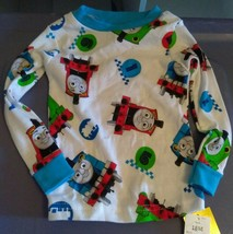 Thomas The Train Boys Toddler Pajama Set Size 18 Month Top & Bottoms Cot... - $9.90