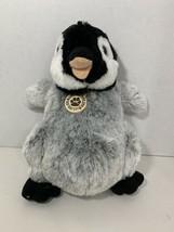 "Wild Republic plush Playful Penguin 12"" Central Park Zoo New York City 10941 - $12.86"