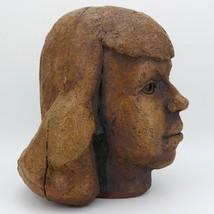 Rudy Autio 1951 Studio Pottery Portait in Sculpture Presentation Piece