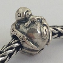 Authentic Trollbeads Sterling Silver Pax Bead Charm 11270, New - $19.75