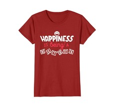 Funny Shirts - Happiness Is Being A Mother Mother's Day Grandma T-shirt ... - $19.95
