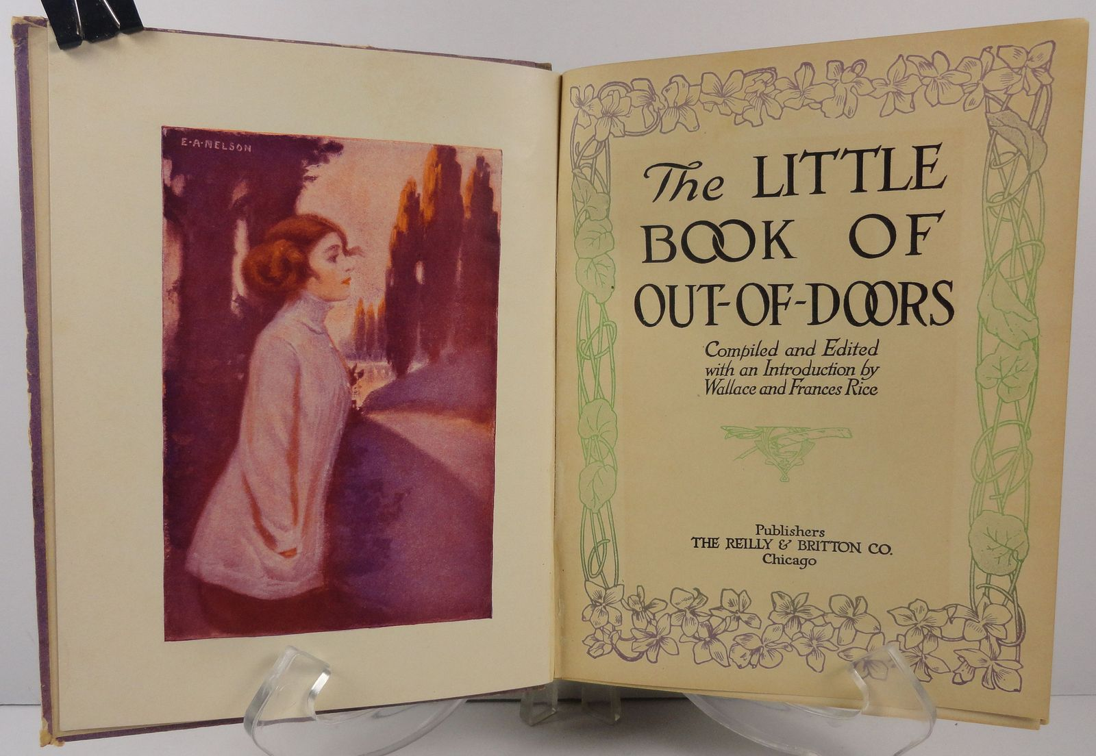The Little Book of Out of Doors by Wallace and Frances Rice
