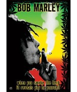 Bob Marley Textile Poster (Herb) - $18.00