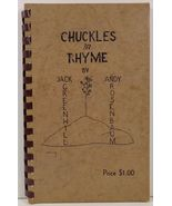 Chuckles in Rhyme by Jack Greenhill and Andy Rosenbaum 1945 - $14.99