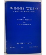 Winnie Weeks by Florence Ryerson and Colin Clements 1940 - $24.99