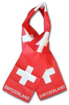 Switzerland flag scarf 10532