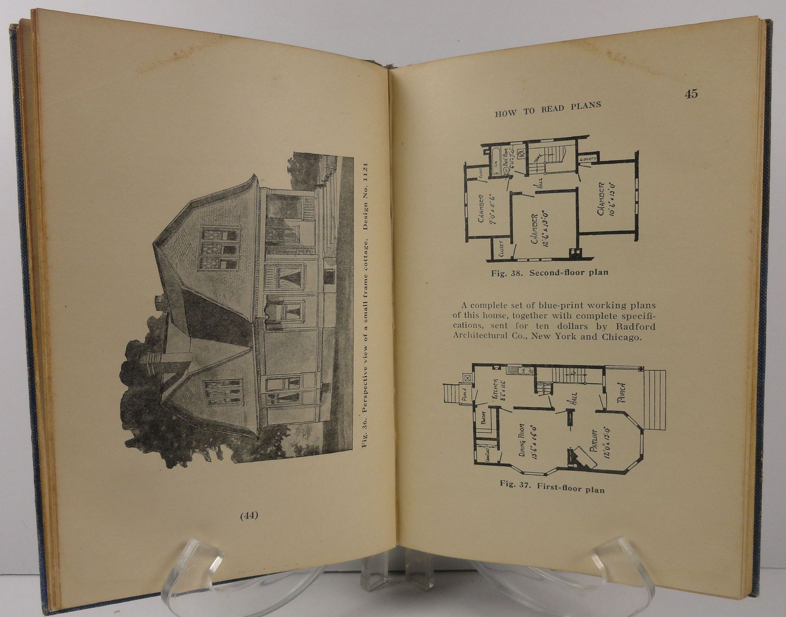 How to Read Plans by Charles G. Peker 1911 Industrial Book