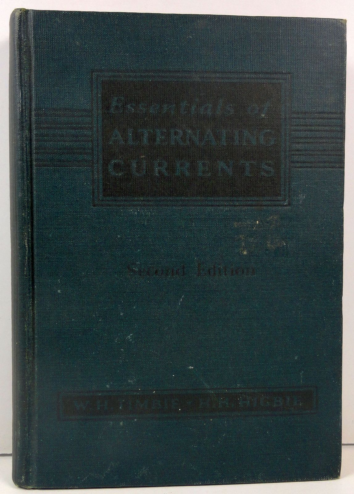 Essentials of Alternating Currents Timbie and Higbie 1939