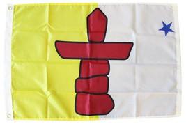 Nunavut - 2'X3' Nylon Flag - $33.60