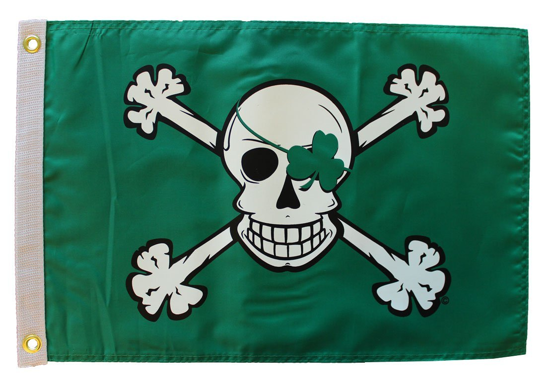 Blarney bones 12x18  pirate