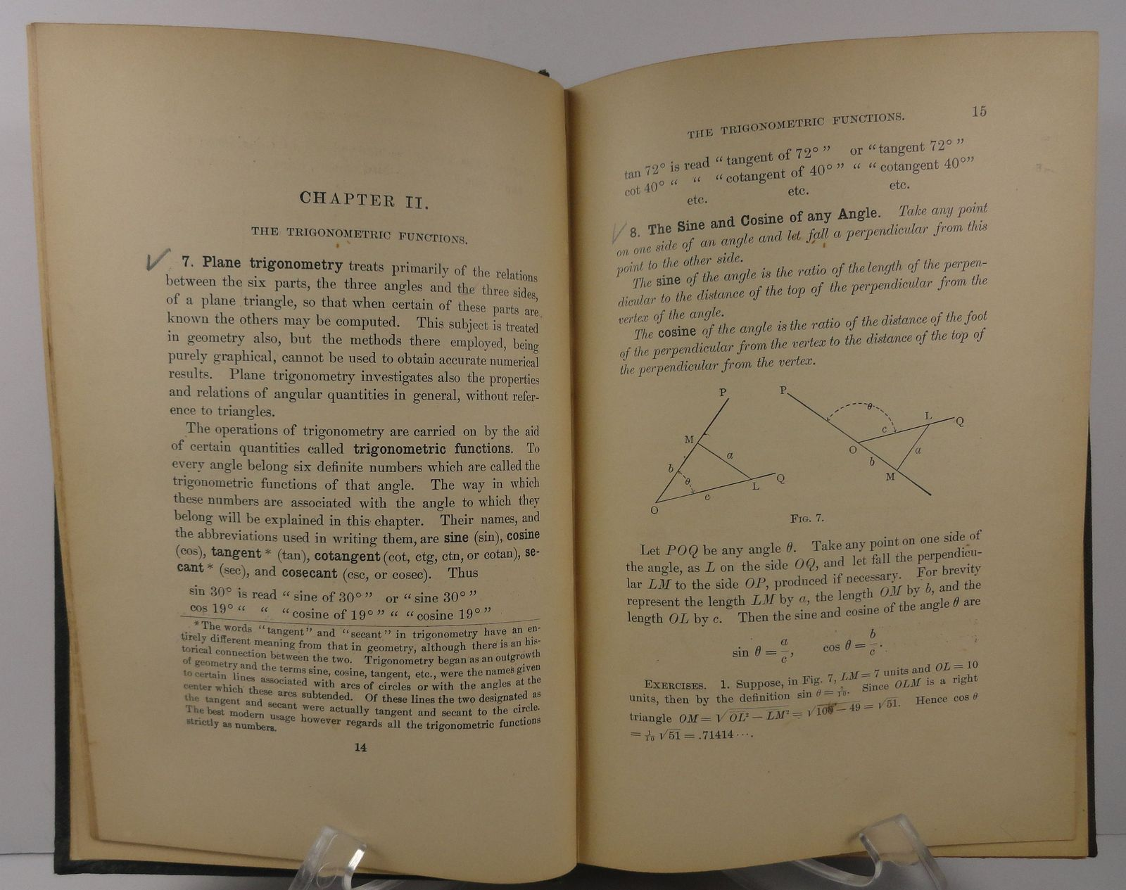 A Course in Plane and Spherical Trigonometry Edwin Crawley