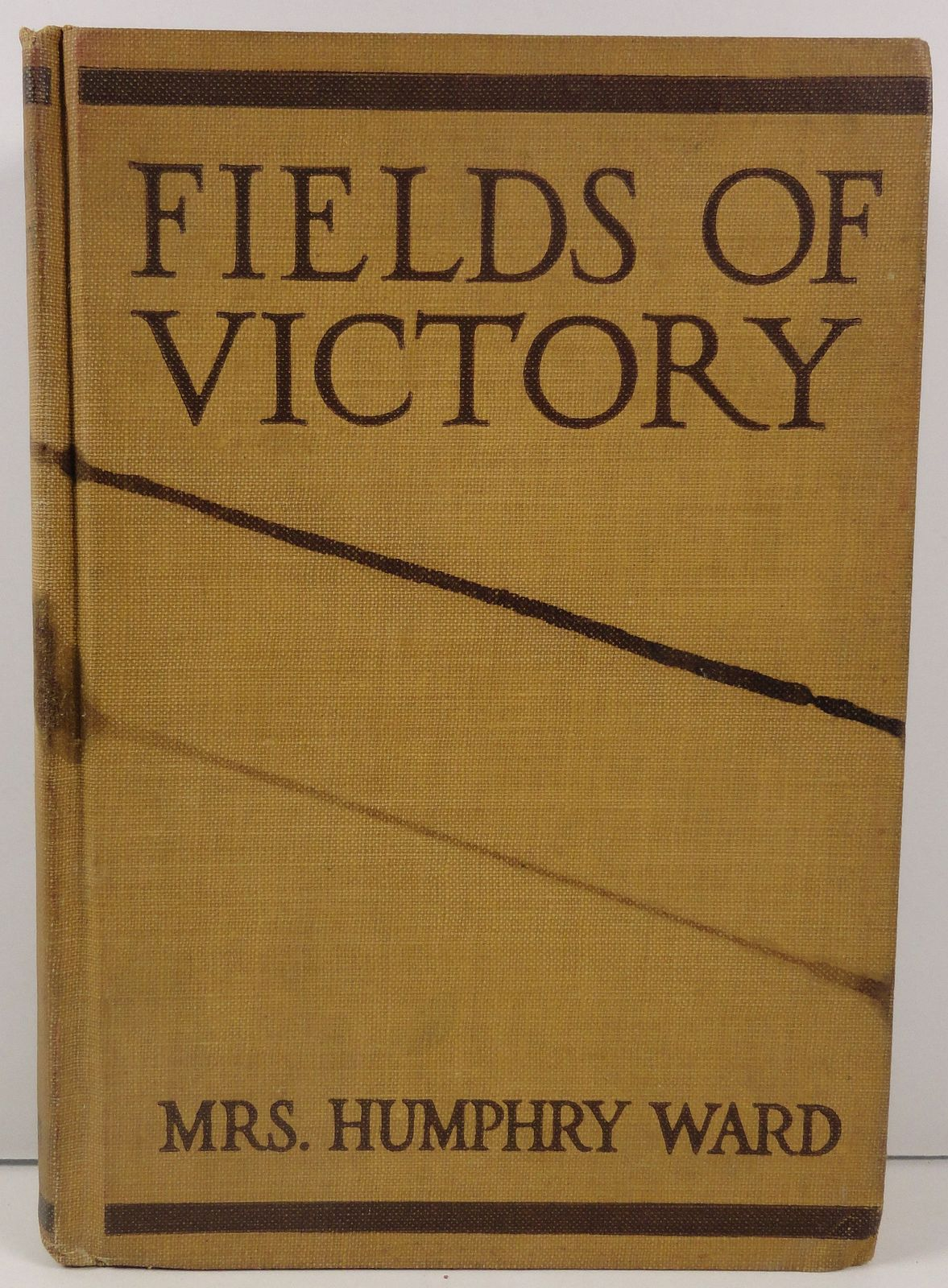 Primary image for Fields of Victory by Mrs. Humphry Ward 1919