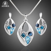 Blue Austrian Crystal Jewelry Set - $25.99