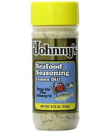 Johnny's Lemon Dill (Original Seafood Seasoning) 4.75oz bottle - $9.99+