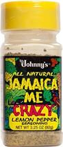 Johnny's Jamaica Me Crazy Lemon Pepper, 3.25 Ounce - $10.29+