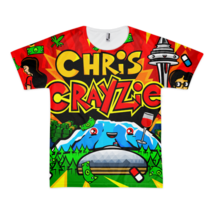 Chris Crayzie Fully Sublimated T-Shirt - $41.00