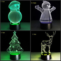 Creative 3D Lamp 7 Colors Changeable - $29.99+