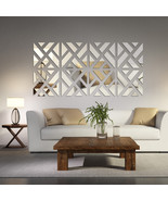 Mirrored Chevron Print Wall Decoration - $18.99+