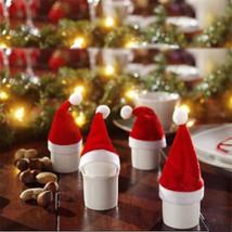 Red Santa Hat Cup for Bottles-10pcs/set - $4.99