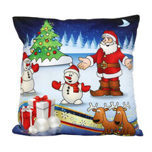 Santa Claus Christmas pillow case - $8.99