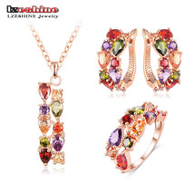 Multicolor Cubic Zircon Jewelry Sets - $20.99