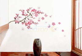 Small sakura flower wall stickers - $5.99