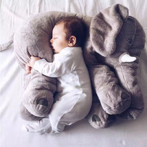 Soft Elephant Baby Pillow - $21.99+