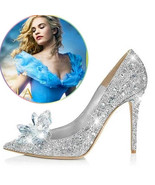 Stiletto Cinderella Crystal Shoes - $59.99+
