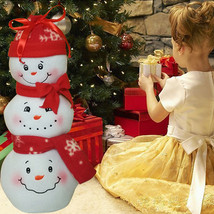Three Snowman design Candy Gift Bag - $7.99