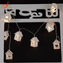 Wood Birdhouse Christmas Light-10LED - $33.99