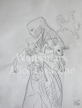 The Trinity (Light, Lion, Lamb) - Original Drawing by ACCI - $13,809.00