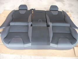 2012 VOLVO XC60 REAR BLACK LEATHER SEAT image 1