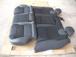 2012 VOLVO XC60 REAR BLACK LEATHER SEAT image 3