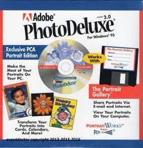 Adobe PhotoDeluxe 2 with trials: Photoshop 4.0.1 Premiere 4.2  Illustrat... - $15.78