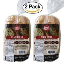 2 Pack Value: Plain Sandwich Bread, Great Low Carb Bread Co. - $28.76
