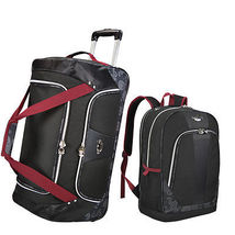 Wheeled Rolling Duffel Bag Travel Set Laptop Backpack Carry On Luggage L... - $139.99