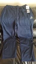 Adidas Performance Men's Ultimate Fleece Pant, Large, Navy Blue/Sharp Grey  - $24.95