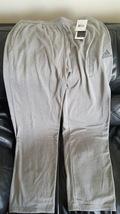 Adidas Performance Men's Ultimate Fleece Pant, Large, Solid Grey/Sharp Grey  - $24.95