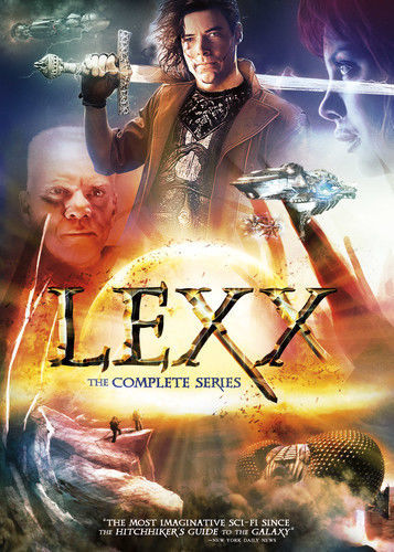 Lexx: The Complete Series (DVD Set) TV Show Seasons New