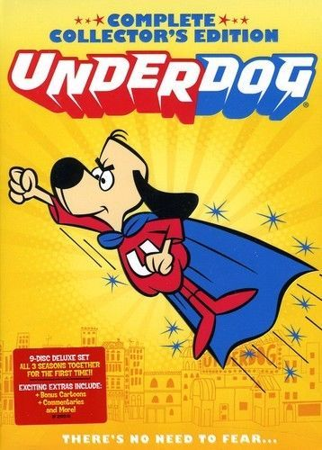 Underdog: Complete Collector's Edition (9 DVD Set) New Classic Cartoon TV Series
