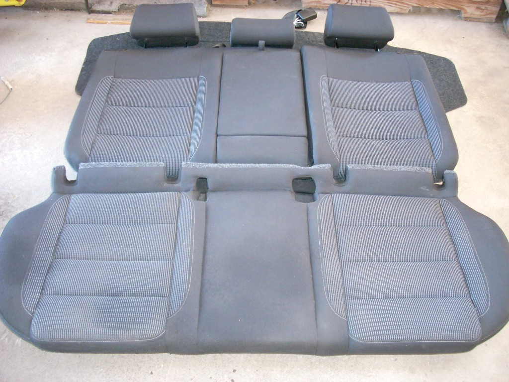 2012 VW GOLF HATCHBACK REAR SEAT ASSEMBLY 36K OEM
