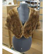 Beautiful Supple Vintage Light Brown Becker & Burns Fur Stole - $165.00