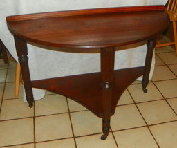 Walnut One Board Top Entry Table / Parlor Table - $599.00