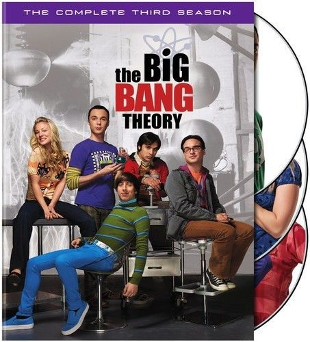 Big Bang Theory: The Complete Third Season 3 (DVD Set) TV Comedy Series New