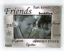 Friends Pewter Picture Frame by Fetco 3.5x5 - $9.99