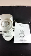Mrs tea for two hot tea maker Mr Coffee model HTM11 with teapot lid inst... - $55.00